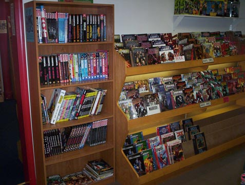 Marvel Comics back issues and collections.